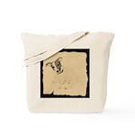 Jack Russell Vintage Style Tote Bag