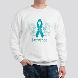 Ovarian Cancer Survivor Sweatshirt