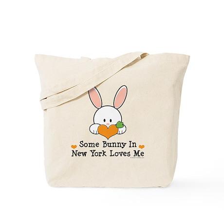 Some Bunny In New York Loves Me Tote Bag