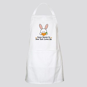 Some Bunny In New York Loves Me Apron