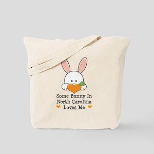 Some Bunny In North Carolina Tote Bag