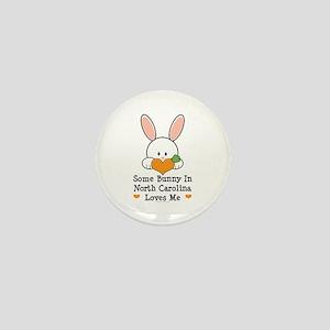 Some Bunny In North Carolina Mini Button