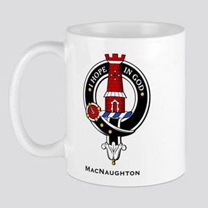 MacNaughton Clan Crest Badge Mug