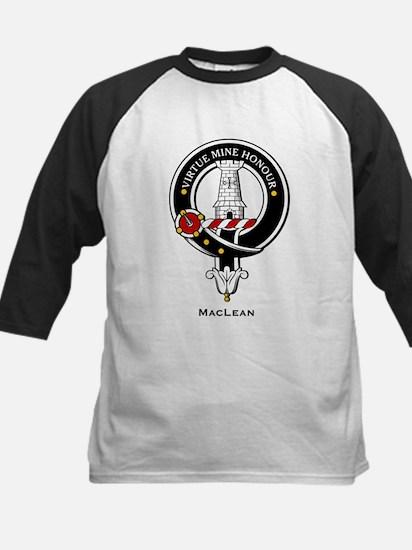 MacLean Clan Crest Badge Kids Baseball Jersey