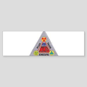 FBI Weapons of Mass Destructi Sticker (Bumper)