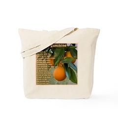 Orange Sunshine -- Tote Bag
