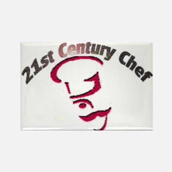 21st Century Chef Rectangle Magnet