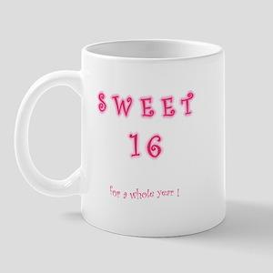 sweet 16 year   Mug