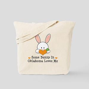 Some Bunny In Oklahoma Loves Me Tote Bag