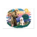 St Francis #2 / Old English (#6) Mini Poster Print