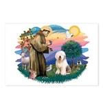 St Francis #2 / Old English (#6) Postcards (Packag