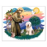 St Francis #2 / Old English (#6) Small Poster