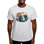 St Francis #2 / Old English (#6) Light T-Shirt