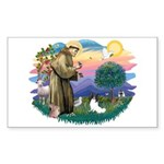 St. Francis #2 / Papillon Sticker (Rectangle 10 pk