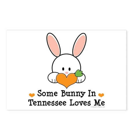 Some Bunny In Tennessee Loves Me Postcards (Packag