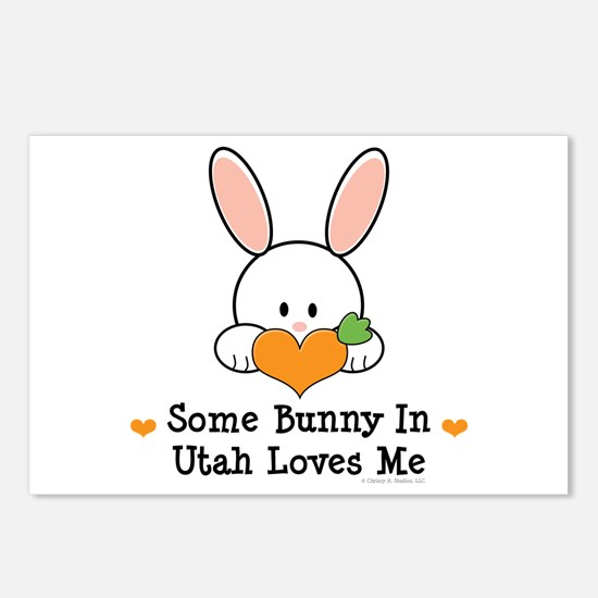 Some Bunny In Utah Loves Me Postcards (Package of
