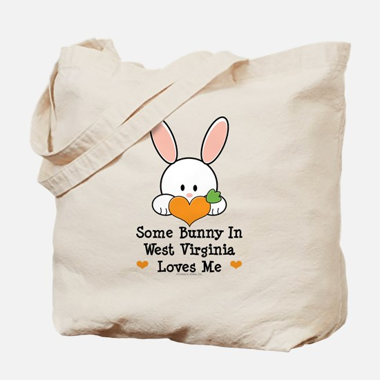 Some Bunny In West Virginia Tote Bag