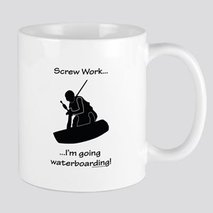 Screw Work-I'm Going Wakeboarding Mug