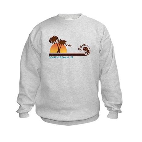South Beach Fl Kids Sweatshirt