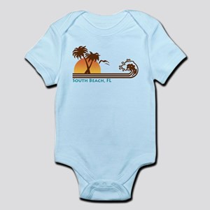 South Beach Fl Infant Bodysuit
