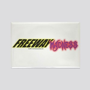 Freeway Mad Logo Rectangle Magnet