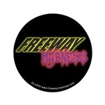 "Freeway Mad Logo 3.5"" Button (100 pack)"