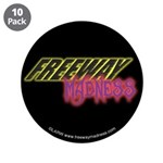 "Freeway Mad Logo 3.5"" Button (10 pack)"