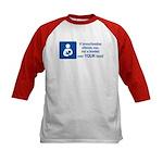 Breastfeeding Lactivist Kids Baseball Jersey
