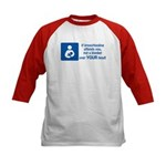 Breastfeeding Lactivist Kids Baseball Jersey