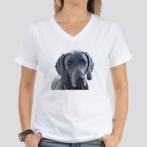 Weimaraner Women's V-Neck T-Shirt