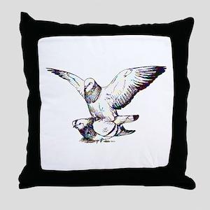 Pigeon Love Throw Pillow