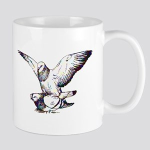 Pigeon Love Mug