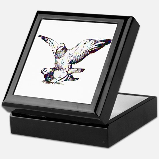Pigeon Love Keepsake Box