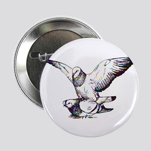 "Pigeon Love 2.25"" Button"
