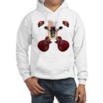 TopHat Flaming Skull Rock n' Hooded Sweatshirt