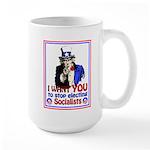 I Want YOU Large Mug