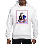 I Want YOU Hooded Sweatshirt