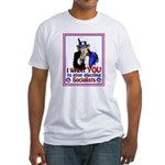 I Want YOU Fitted T-Shirt