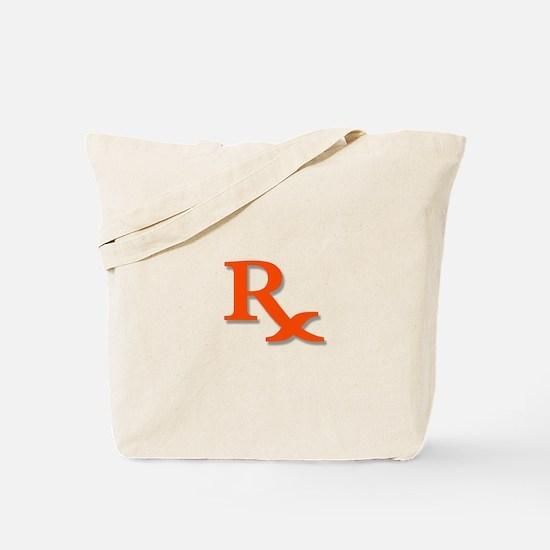 Pharmacy Rx Symbol Tote Bag