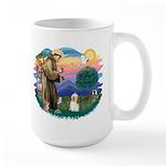 St Francis #2/ Havanese #1 Large Mug