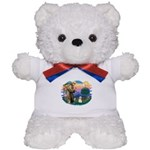 St Francis #2/ Havanese #1 Teddy Bear