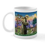 St Francis #2 / Red Husky Mug