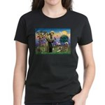 St Francis #2 / Red Husky Women's Dark T-Shirt