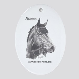 Exceller portraint Oval Ornament