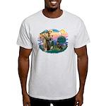 St Francis #2 / Rottweiler Light T-Shirt