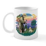 St Francis #2 / Lhasa Apso (R) Mug