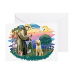 St. Fr. #2/ Italian Spinone Greeting Cards (Pk of
