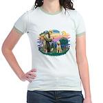 St. Fr. #2/ Italian Spinone Jr. Ringer T-Shirt