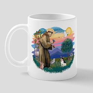 St. Francis #2 / Rat Terrier Mug