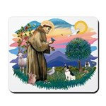 St. Francis #2 / Rat Terrier Mousepad